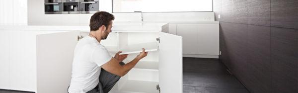 tablette m lamin blanc tanguy. Black Bedroom Furniture Sets. Home Design Ideas