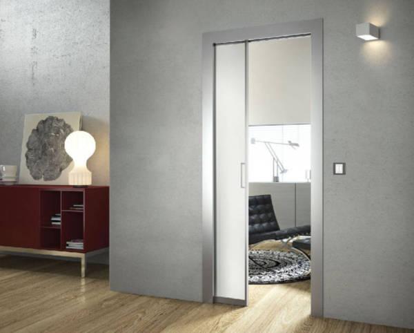 ch ssis pour porte galandage doortech tanguy. Black Bedroom Furniture Sets. Home Design Ideas