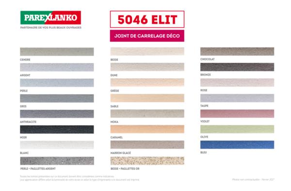 Joint De Carrelage Deco 5046 Elit Tanguy