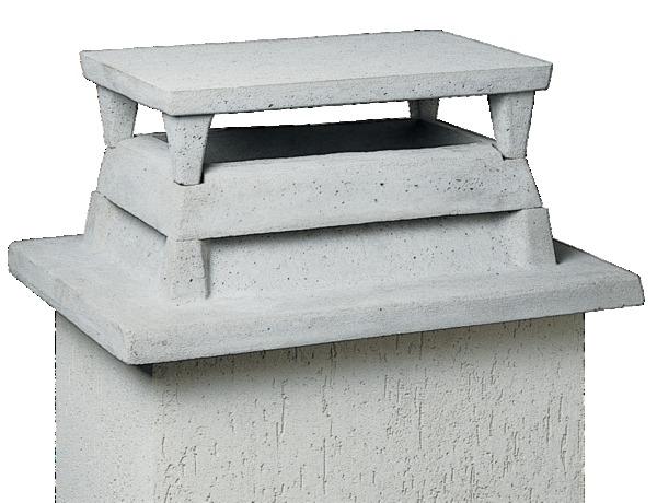 Aspirateur statique en b ton sebidal tanguy - Chapeau de cheminee en beton ...
