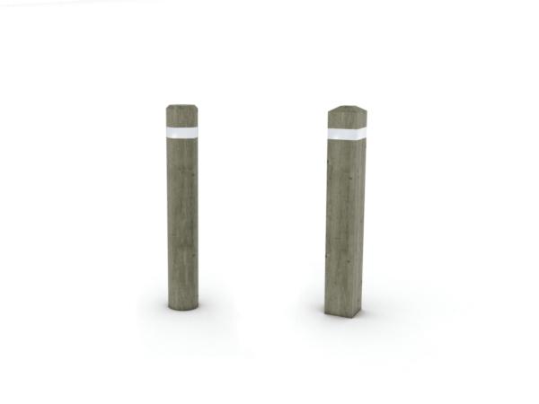 borne anti stationnement rondes amovibles 15 cm tanguy. Black Bedroom Furniture Sets. Home Design Ideas