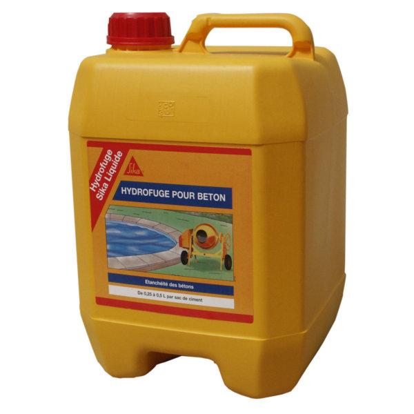 Hydrofuge de masse tanguy for Hydrofuge sika liquide