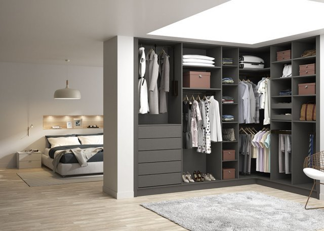 Dressing chambre parentale excellent amenagement chambre for Dressing chambre parents
