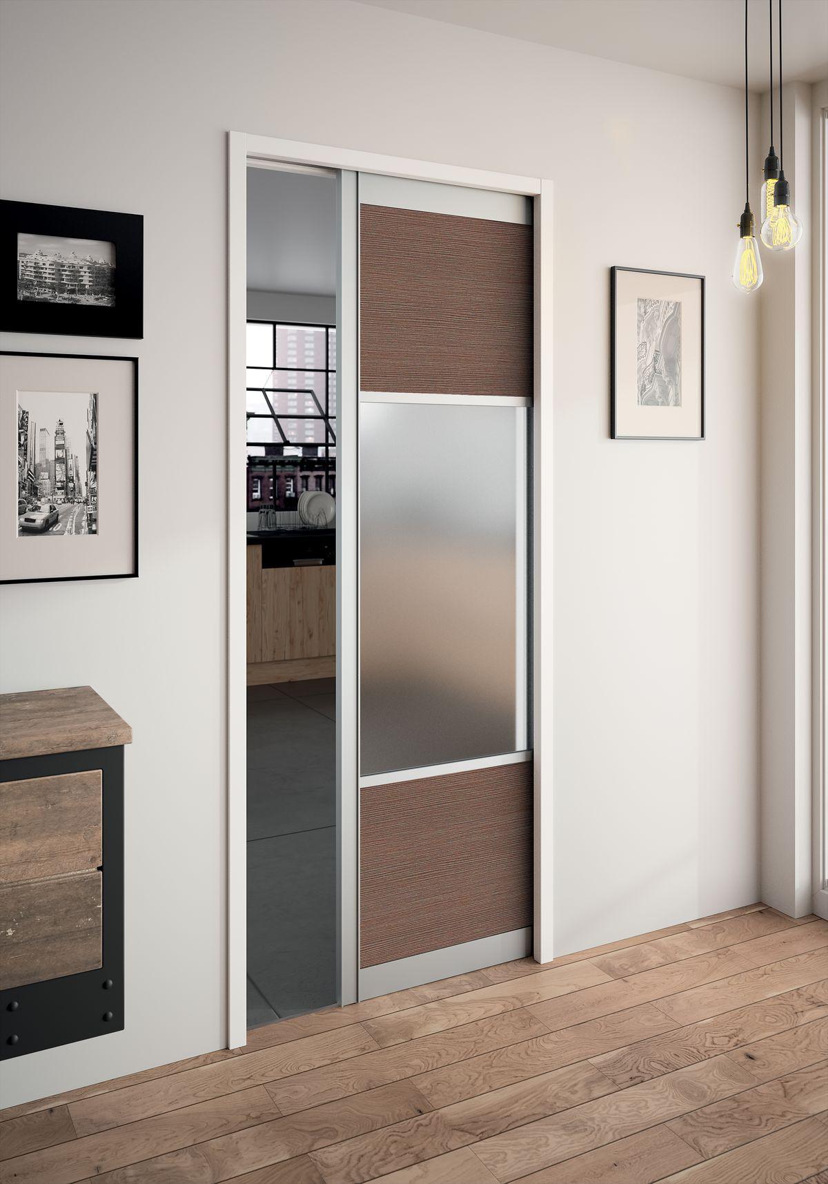 Porte Coulissante Separation les portes coulissantes à galandage : élégance et discrétion | tanguy