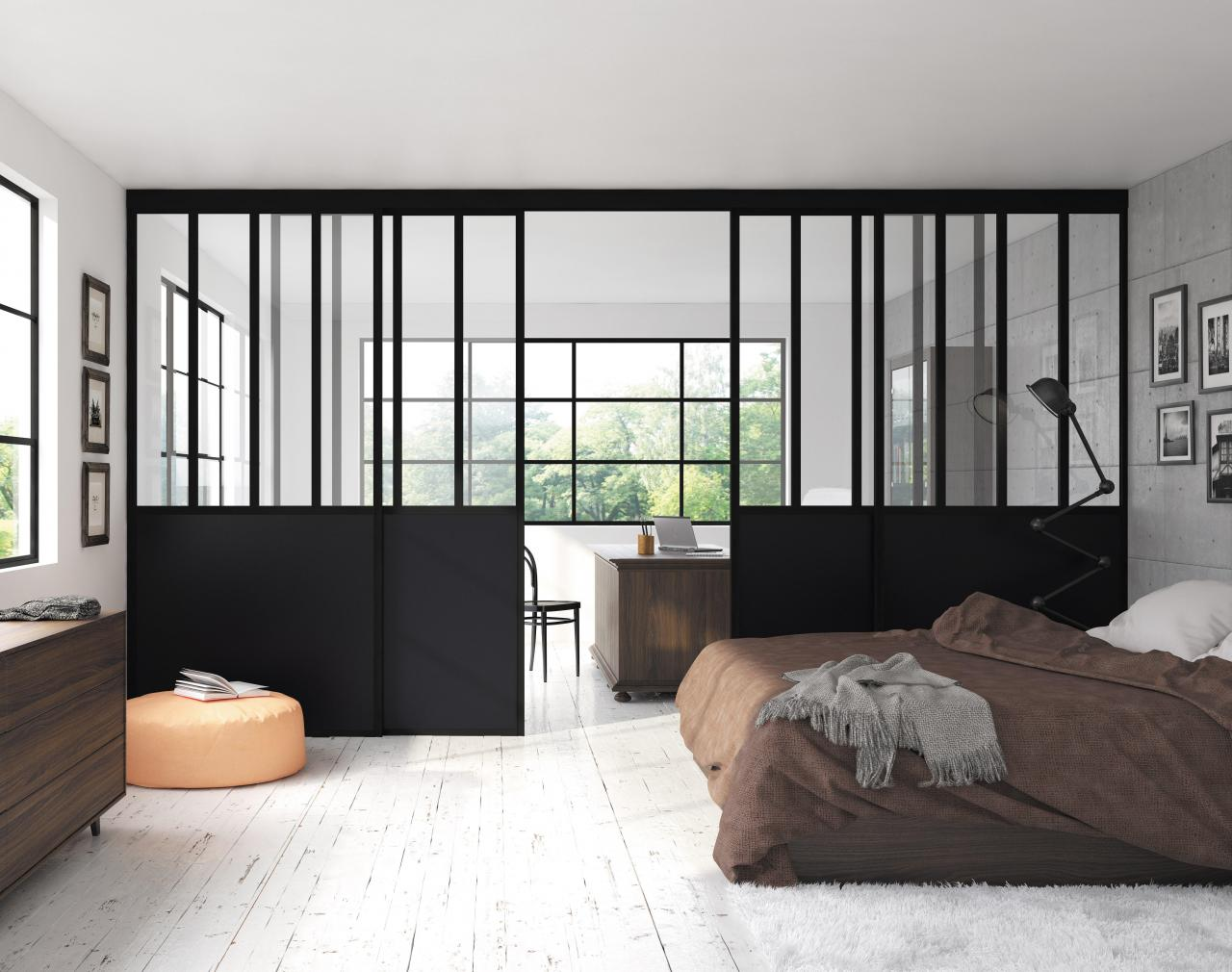 verri re int rieure 7 fa ons de cloisonner son espace tanguy. Black Bedroom Furniture Sets. Home Design Ideas